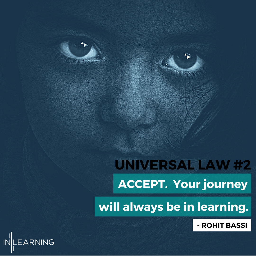 Universal Law #2 - Accept- Soul of Sales